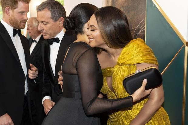 Prinz Harry, Herzogin Meghan und Beyoncé