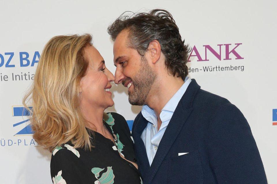 Caroline Beil und EhemanPhilipp Sattler.