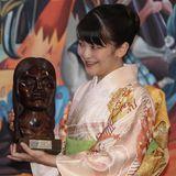 15. Juli 2019  Vom bolivianischen Präsidenten hat Prinzessin Mako eine Statue der indigenen Heldin Bartolina Sisa bekommen.