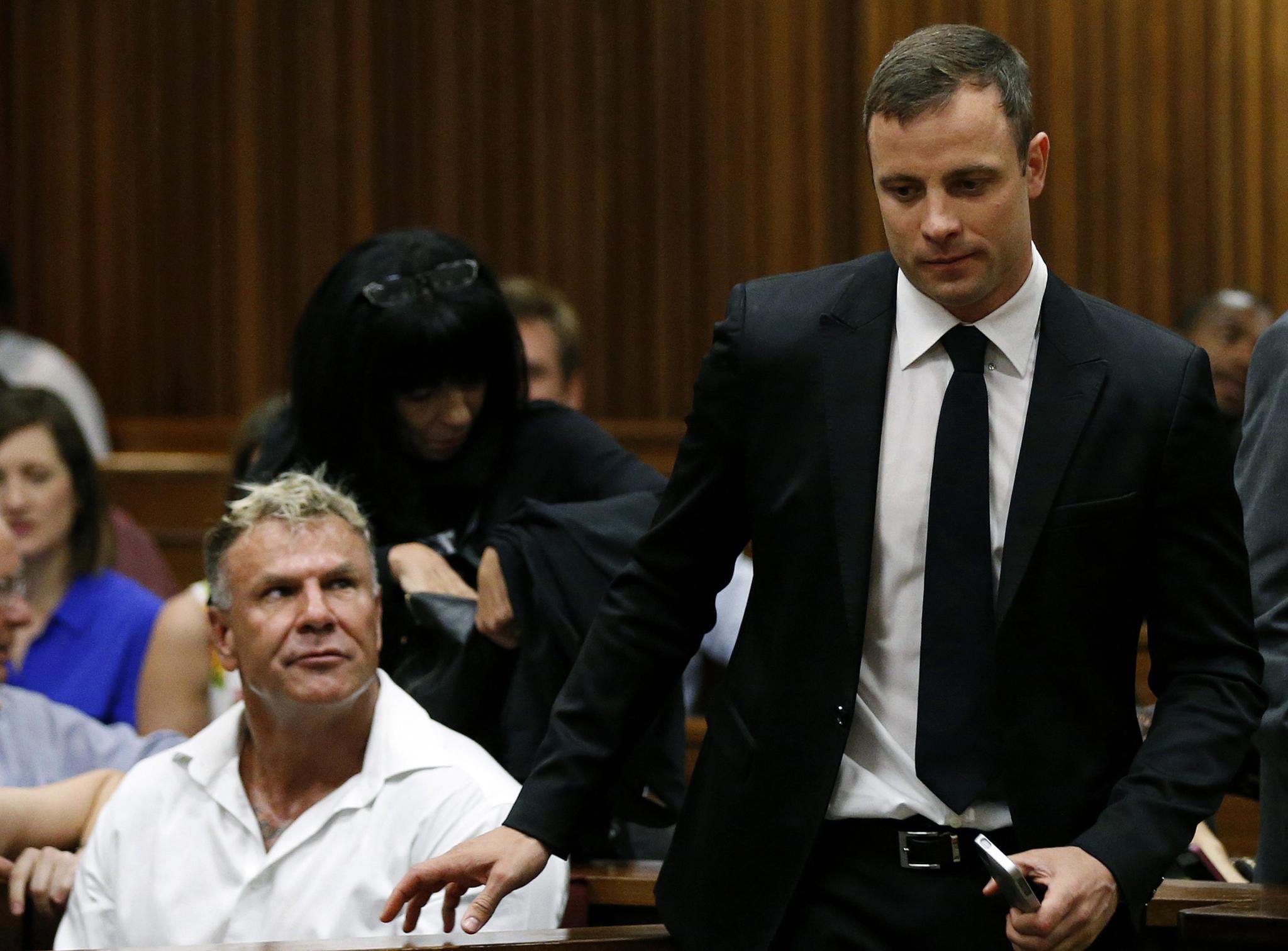 Mark Batchelor (†) und Oscar Pistorius