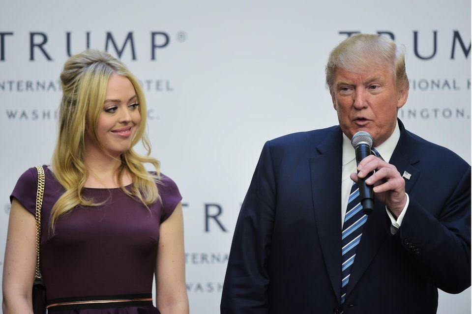 Tiffany Trump und Donald Trump