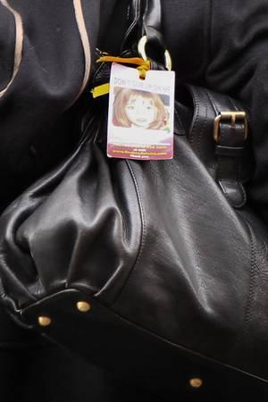 """Eine Tasche mit Maddie """"Kofferanhänger"""""""