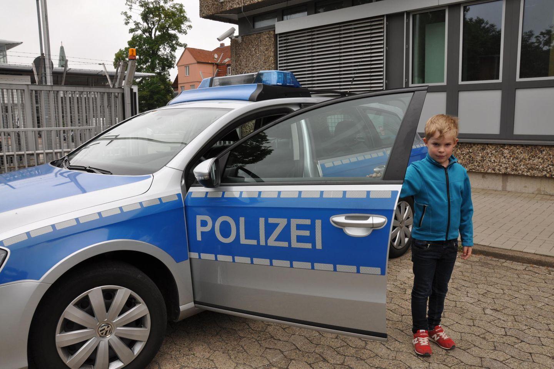 Paul bei der Polizei