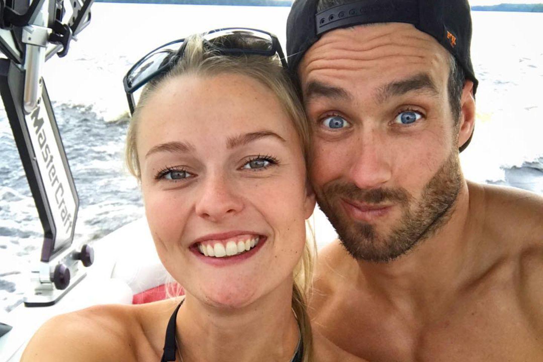 Miriam Höller und ihr Freund Nate Herbert.