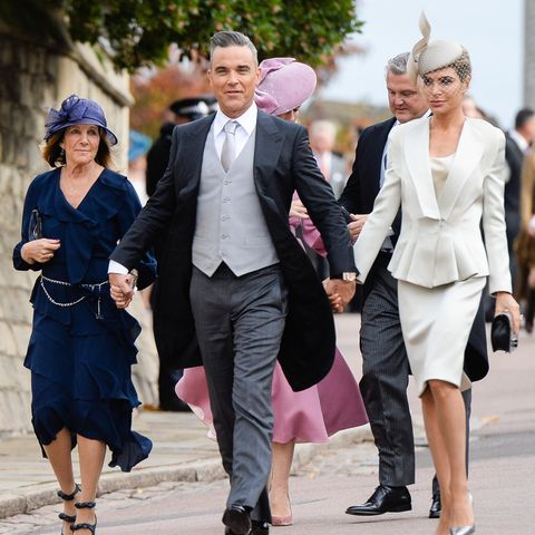 Gwen Field, Robbie Williams und Ehefrau Ayda Field