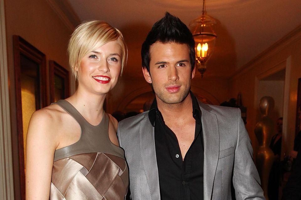 Lena Gercke und Jay Khanbei den Gala Spa Awardsim Jahr 2009