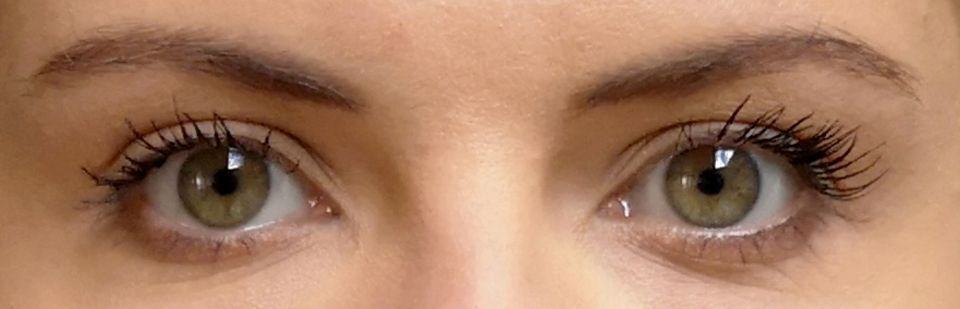 Mascara-Test, Sonia, Yves Saint Laurent, Augen, Wimpern
