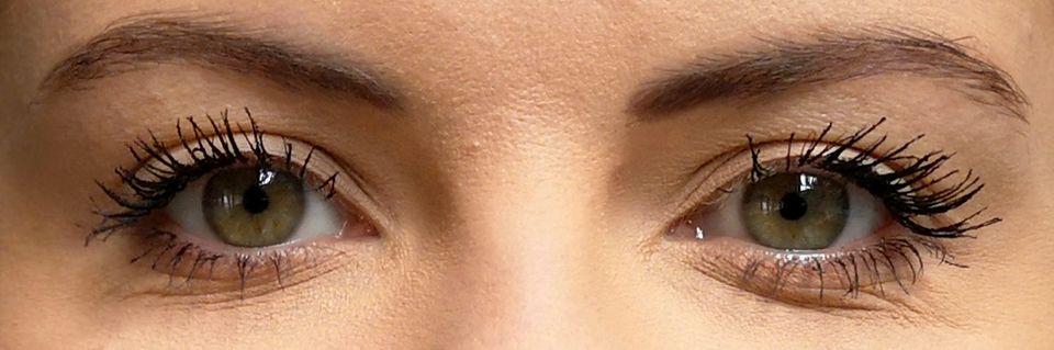 Mascara-Test, Sonia, Augen, Wimpern