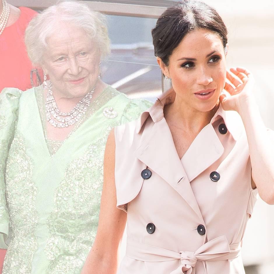 Warum sie wegen der Mutter der Queen ein Problem hat