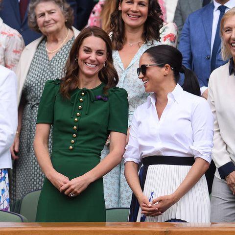 Herzogin Catherine, Herzogin Meghan + Pippa Middleton