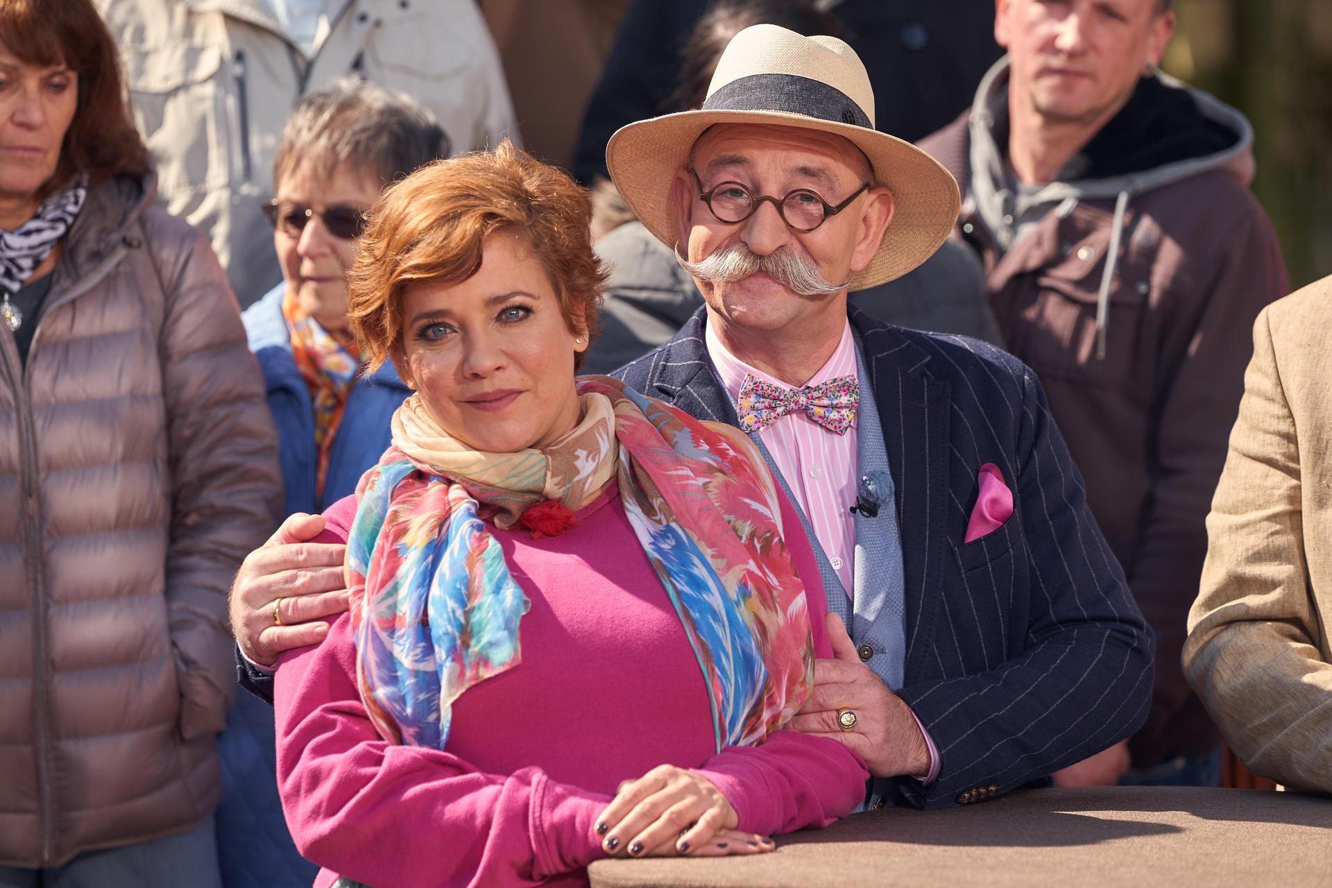 Muriel Baumeister und Horst Lichter