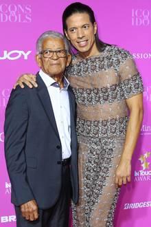 Jorge González mit seinem Vater Gudelio