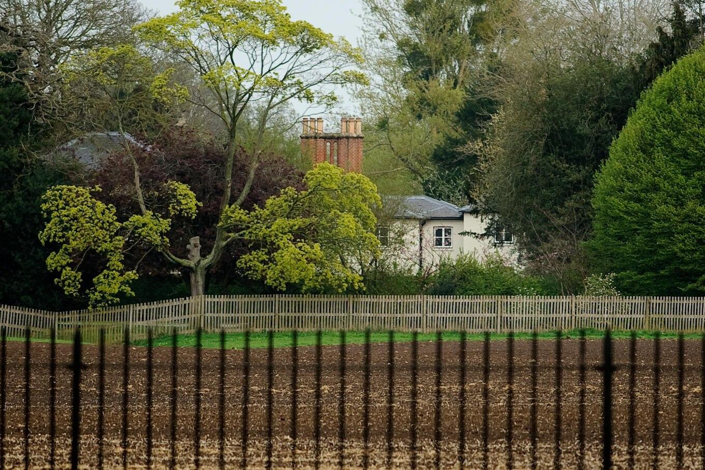 """Der Gemüsegarten auf dem Gelände von Frogmore Cottage ist zum Fall der """"nationalen Sicherheit"""" geworden."""