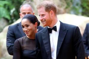 Prinz Harry mit Herzogin Meghan
