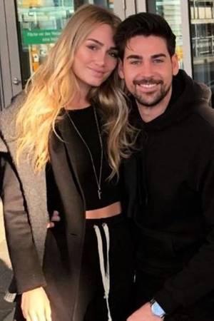 Patrick Cuninka und Fiona Villavecchia