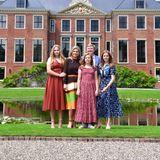 19. Juli 2019  Die niederländische Königsfamilie präsentiert sich beim traditionellen Sommer-Fototermin in Den Haag.