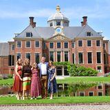 Die niederländischen Royals (v.l.n.r.): Prinzessin Catharina-Amalia, Königin Máxima, Prinzessin Ariane, König Willem-Alexander, Prinzessin Alexia