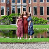 Prinzessin Alexia, Prinzessin Catharina-Amalia und Prinzessin Alexia (v.l.n.r.)