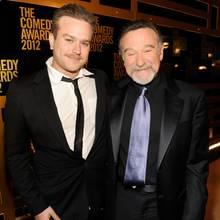 "Zachary ""Zak"" Williams und Robin Williams (†)"