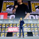 """Großer Schauspieler auf großer Leinwand: Tom Hiddleston alias """"Loki""""."""