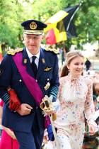 Fester Bestandteil des Nationalfeiertags ist der Besuchin der Brüsseler Kathedrale St. Michael und St. Gudula.