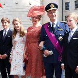 Am 21. Juli begehen die Belgier ihren Nationalfeiertag, und das ist eine schöne Möglichkeit für die Königsfamilie ihrem Volk ganz nah zu sein:Prinz Gabriel, Kronprinzessin Elisabeth, Königin Mathilde, KönigPhilippe, PrinzEmmanuel und Prinzessin Eleonore feiern gemeinsam in Brüssel.