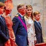 Vorbild: Als Kronprinzessin wird Elisabeth ihrem Vater Philippe eines Tages auf den Thron folgen.