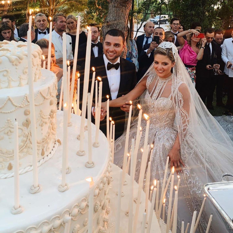 Elie Saab Jr + Christina Mourad: Pompöse Hochzeit mit vier