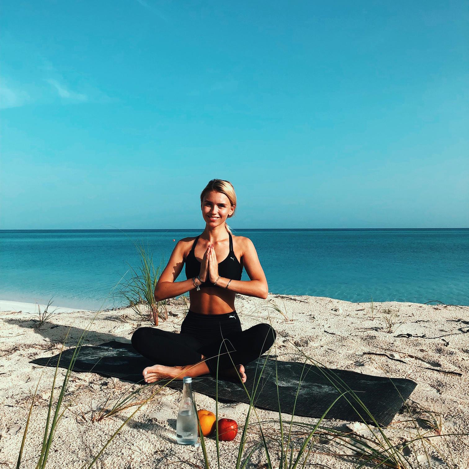 Scarlett Gartmann: ihr Fitness- und Food-Journal