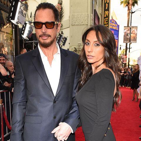 Chris Cornell + Vicky Karayiannis