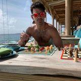 Traumkombi in den Flitterwochen: Sushi und Schach