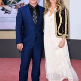 Auch Chris' Bruder Luke Hemsworth hat seine Frau Samantha mitgebracht.