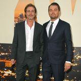 Brad Pitt und Leonardo DiCaprio sind ein eingespieltes Team - auf der Leinwand und im echten Leben.
