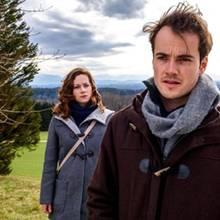 """Sturm der Liebe"": Tina (Christin Balogh) und David (Michel N. Kühl)"