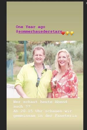 """Jens und Daniela Büchner waren vor einem Jahr Kandidaten bei """"Das Sommerhaus der Stars"""""""