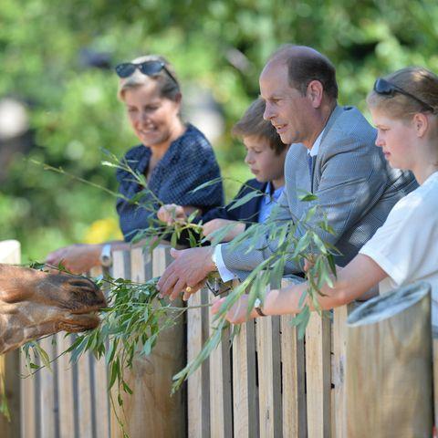 Prinz Edward und seine Familie