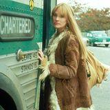 Forrest Gumps große Liebe Jenny wird von Robin Wright gespielt.