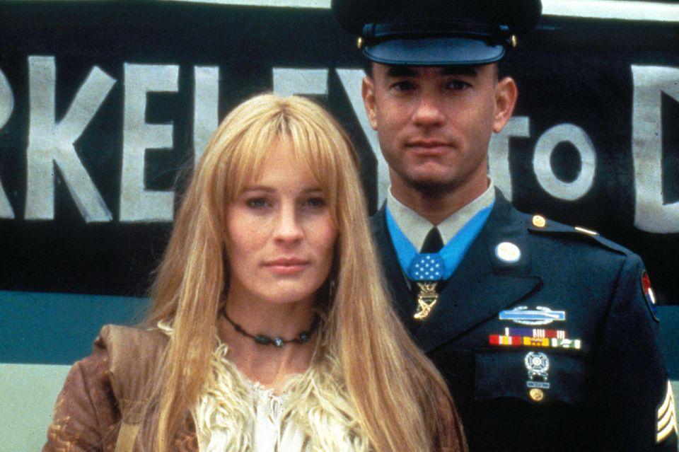 Tom Hanks und Robin Wright spielen Forrest Gump und dessen Jugendliebe Jenny.