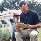 Der sechsjährige Haley Joel Osment spielt Forrest Gumps Sohn Forrest jr.