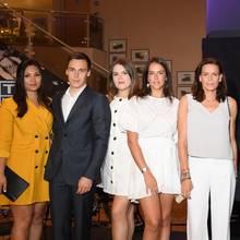 Marie Hoa Chevallier, Louis Ducruet, Camille Gotlieb, Pauline Ducruet, PrinzessinStephanie vonMonaco,