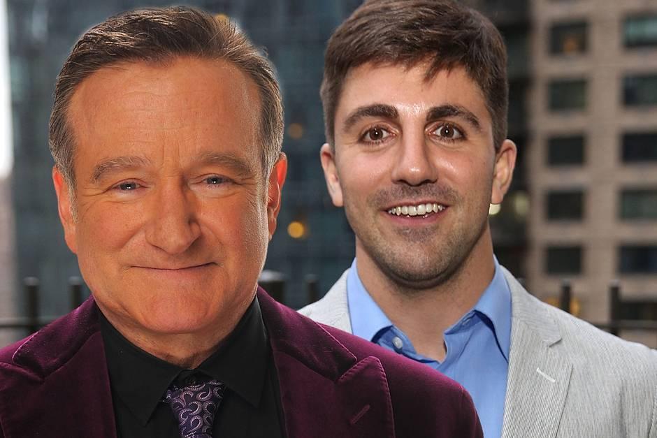 Robin Williams (†) und Cody Williams