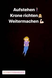 Jenny Frankhauser: Reaktion auf Daniela Katzenbergers Zuspruch