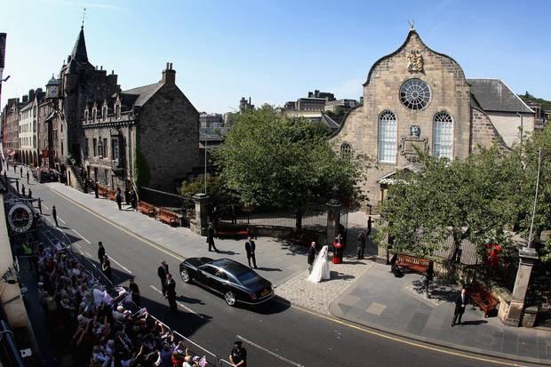 Zara Philipps und Mike Tindal feierten am 30. Juli 2011 ihre Hochzeit in derCanongate Kirk in Edinburgh.