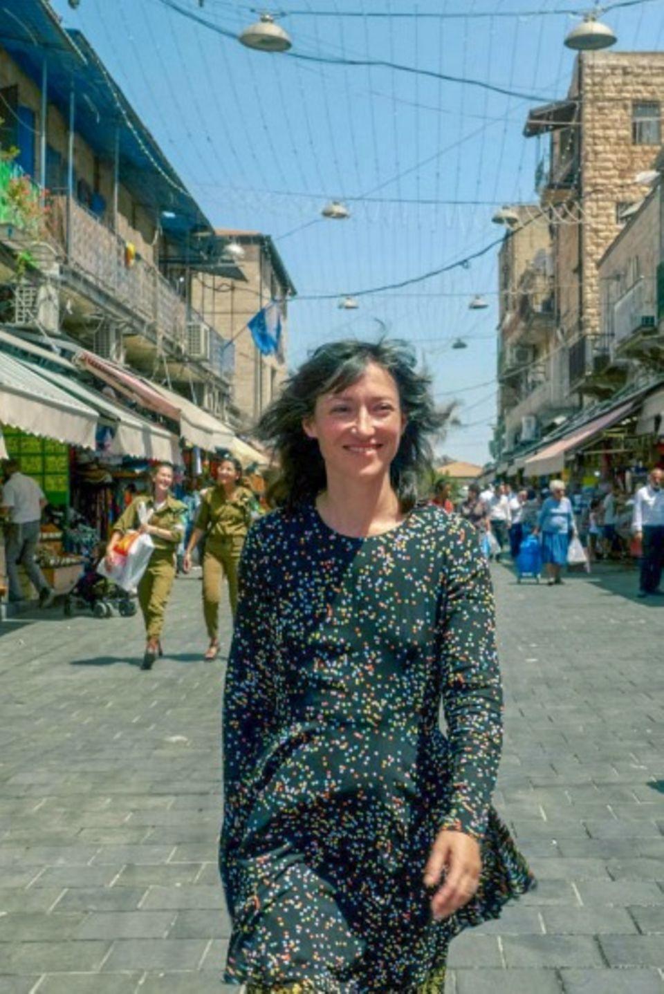 Charlotte Roche in Israel