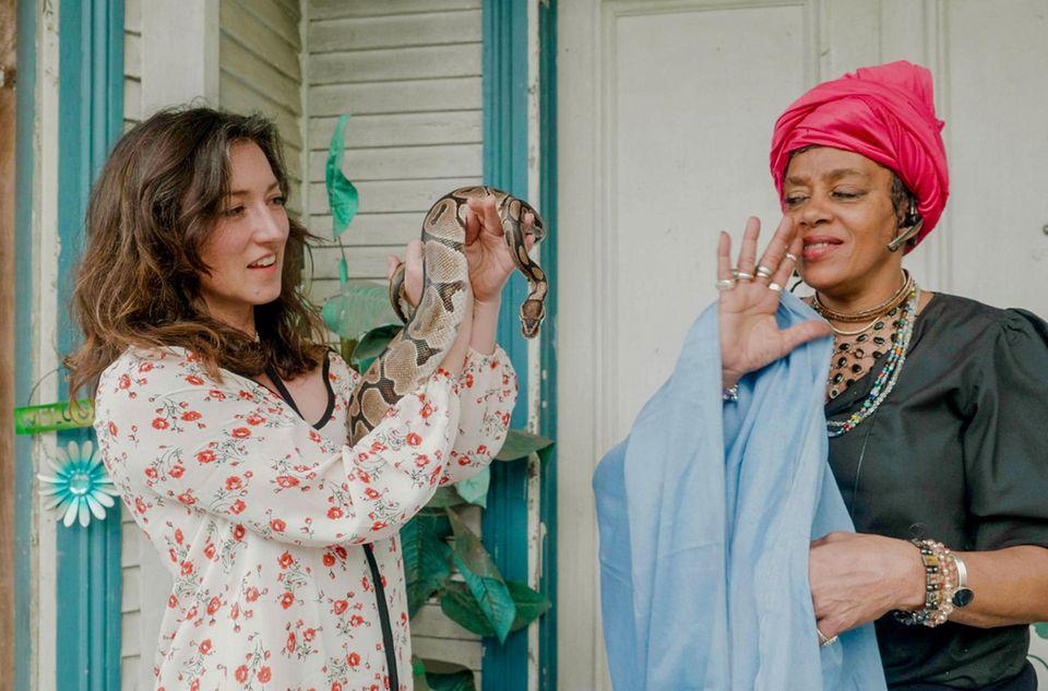 Charlotte Roche reiste für ein Voodoo-Ritual nach New Orleans