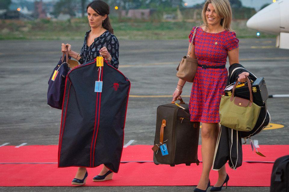 Gepäck von Prinz William und Herzogin Catherine