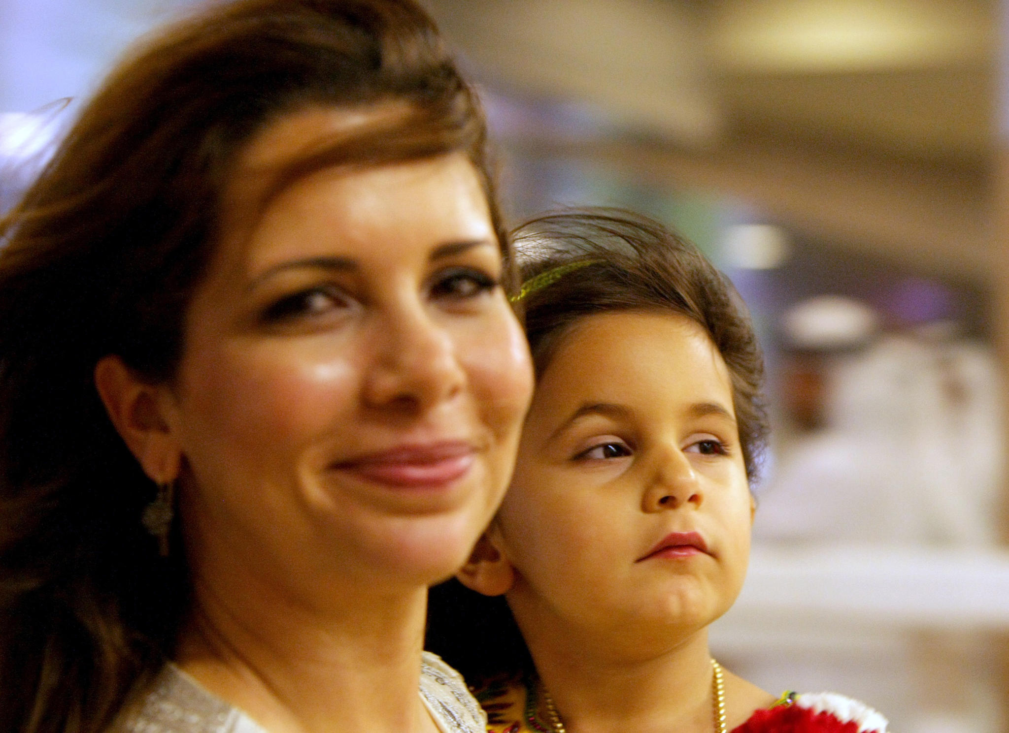 Prinzessin Haya und ihre Tochter