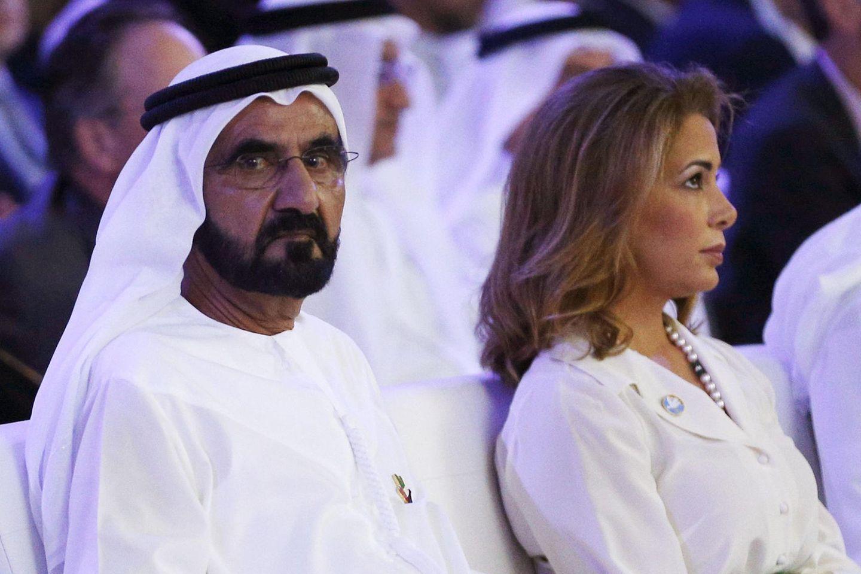 Scheich Mohammedbin Raschid Al Maktoum und Prinzessin Haya