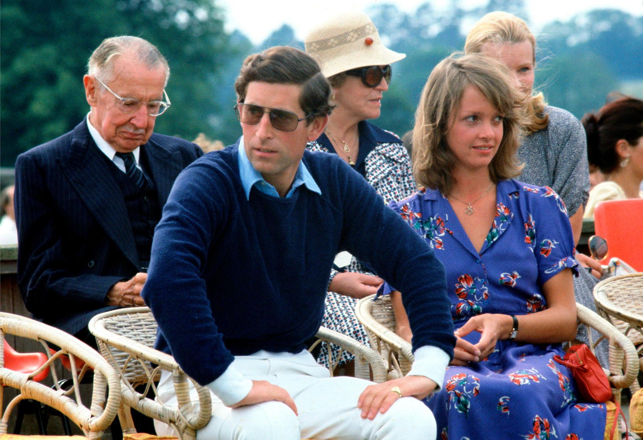 Prinz Charles mit seiner damaligen Freundin Sabrina Guiness