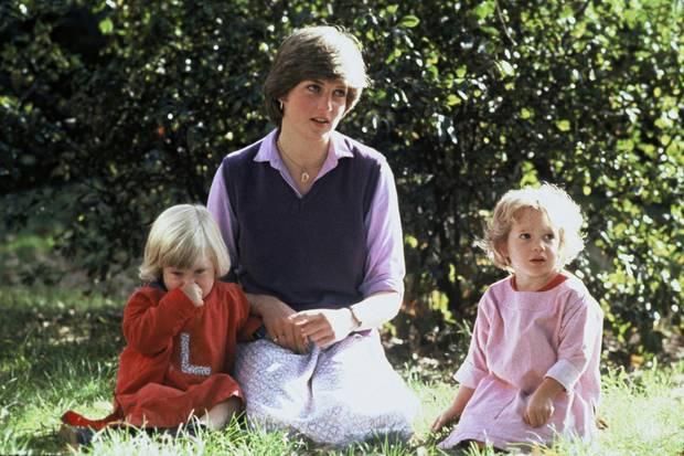 Lady Diana Spener, die spätere Prinzessin von Wales